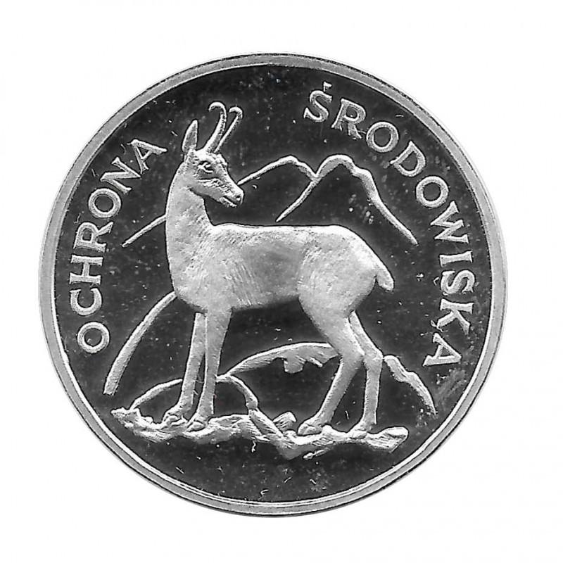 Coin 100 Zlotys Poland Chamois Year 1979 | Numismatics Online - Alotcoins