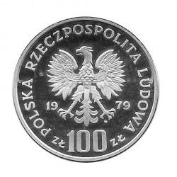 Moneda 100 Zlotys Polonia Gamuza Año 1979 2 | Numismática Española - Alotcoins