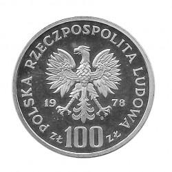 Münze 100 Złote Polen Biber PROBA Jahr 1978 2 | Numismatik Online - Alotcoins