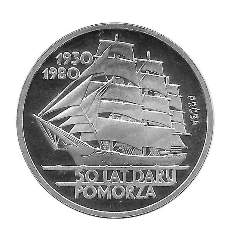 Moneda 100 Zlotys Polonia Daru Pomorza PROBA Año 1980 | Numismática Online - Alotcoins