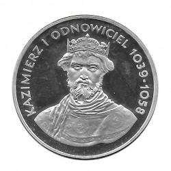 Moneda 200 Zlotys Polonia Kazimierz I Restaurador Año 1980 | Numismática Online - Alotcoins