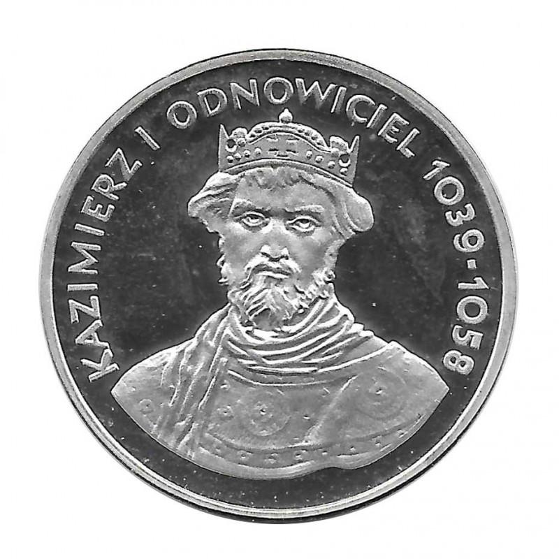Silbermünze 200 Złote Polen Kazimierz I Odnowiciel Jahr 1980   Numismatik Online - Alotcoins