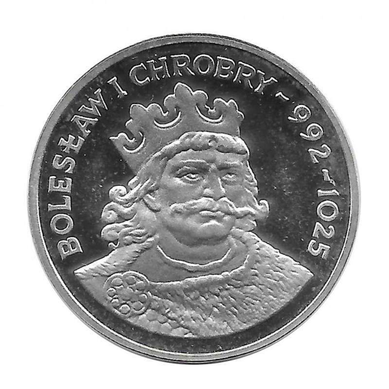 Silbermünze 200 Złote Polen Bolesław I Chrobry Jahr 1980 | Numismatik Online - Alotcoins