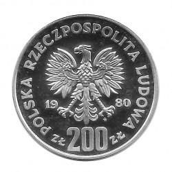 Moneda 200 Zlotys Polonia Bolesław I Chrobry Año 1980 2 | Numismática Online - Alotcoins