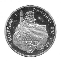 Silbermünze 200 Złote Polen Bolesław I Chrobry Jahr 1980 PROBA | Numismatik Online - Alotcoins