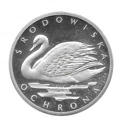 Silbermünze 1.000 Złote Polen Höckerschwan PROBA Jahr 1984 | Numismatik Online - Alotcoins
