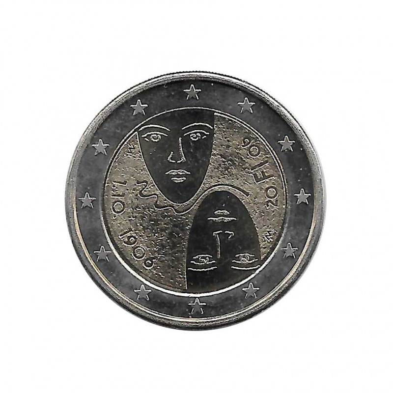 Commemorative Coin 2 Euros Finland Universal Suffrage Year 2006 | Numismatics Online - Alotcoins