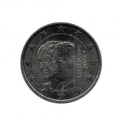 Moneda 2 Euros Conmemorativa Luxemburgo Adhesión Charlotte Año 2009 | Numismática Española - Alotcoins