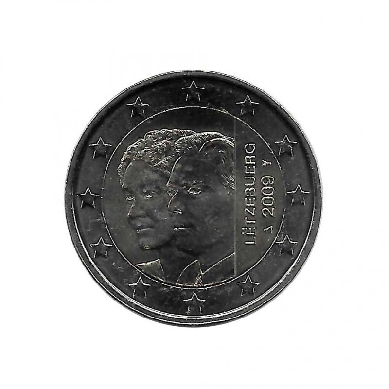 Gedenkmünze 2 Euro Luxemburg Charlottes Thronbesteigung Jahr 2009   Numismatik Online - Alotcoins