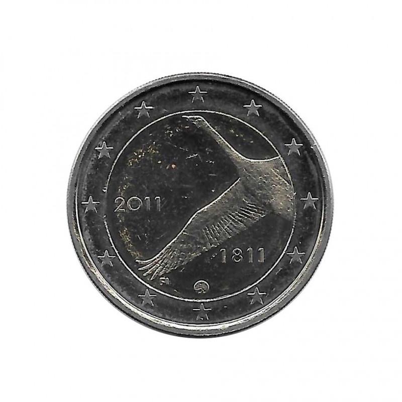 Moneda 2 Euros Conmemorativa Finlandia Banco Nacional Año 2011 | Numismática Española - Alotcoins
