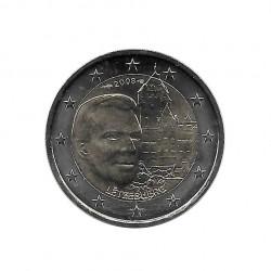 Gedenkmünze 2 Euro Luxemburg Bergschloss Jahr 2008 | Numismatik Online - Alotcoins