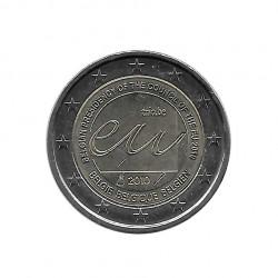 Commemorative Coin 2 Euros Belgium Belgian Presidency EU Year 2010 | Numismatics Online - Alotcoins