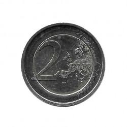 Commemorative Coin 2 Euros Belgium Queen Elizabeth Music Competition Year 2012 2 | Numismatics Online - Alotcoins