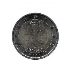 Commemorative Coin 2 Euros Luxembourg EMU Year 2009 | Numismatics Store - Alotcoins
