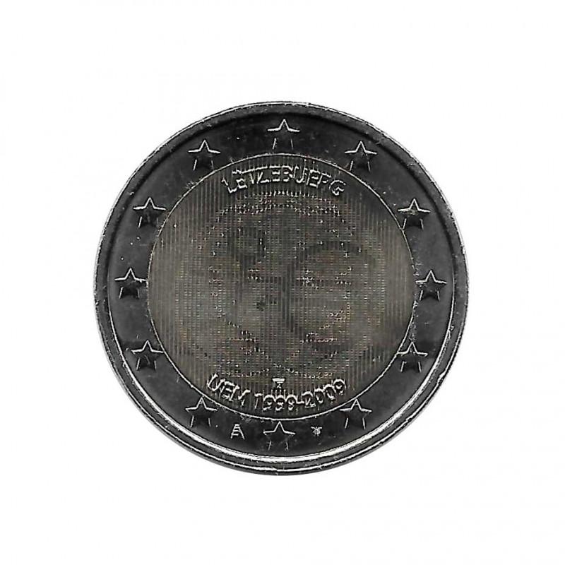 Moneda 2 Euros Conmemorativa Luxemburgo EMU Año 2009 | Tienda Numismática - Alotcoins