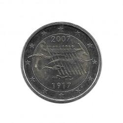 Münze 2 Euro Finnland 90 Jahre Unabhängigkeit Jahr 2007 | Numismatik Store - Alotcoins
