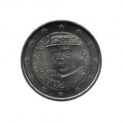 Rollo 25 Monedas 2 Euros Eslovaquia Milan Rastislav Štefánik Año 2019 4 | Tienda Numismática - Alotcoins