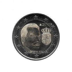 Gedenkmünze 2 Euro Luxemburg Herzog Henri Wappen Jahr 2010 | Numismatik Shop - Alotcoins