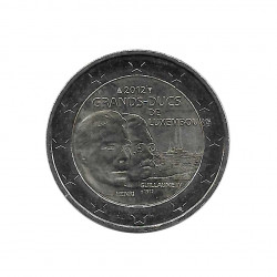 Commemorative Coin 2 Euros Luxembourg Death William IV Year 2012 | Numismatics Store - Alotcoins