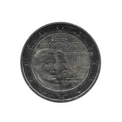 Moneda 2 Euros Conmemorativa Luxemburgo Muerte Guillermo IV Año 2012 | Tienda Numismática - Alotcoins