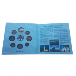 Pack Coins Pounds Pence Gibraltar Year 2011 3 | Numismatics Shop - Alotcoins