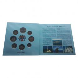 Pack Coins Pounds Pence Gibraltar Year 2010 3 | Numismatics Shop - Alotcoins