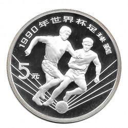Moneda 5 Yuan China Mundial Italia 1990 Año 1990 | Tienda Numismática - Alotcoins