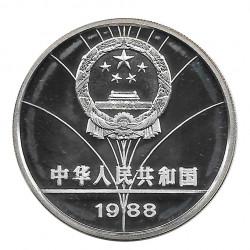 Silver Coin 5 Yuan China Sailboat Racing Year 1988 | Numismatic Store - Alotcoins