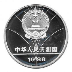 Moneda 5 Yuan China Esgrima Juegos Verano Seúl Año 1988 | Numismática Online - Alotcoins
