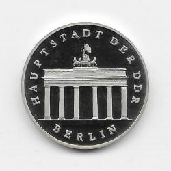 Moneda 5 Marcos Alemania DDR Puerta Brandenburgo Año 1987 | Numismática Online - Alotcoins