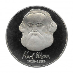 Moneda 20 Marcos Alemania DDR Centenario Karl Marx Año 1983 | Tienda Numismática - Alotcoins
