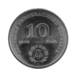 Coin 10 Mark Germany GDR National People's Army Year 1976 | Numismatics Store - Alotcoins