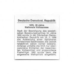 Münze 10 Mark Deutschland DDR Nationalen Volksarmee Jahr 1976 Zertifikat | Numismatik Store - Alotcoins