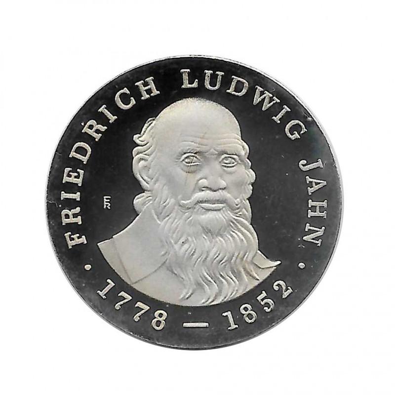 Coin 5 Marks Germany GDR Friedrich Ludwig Jahn Year 1977 | Numismatics Shop - Alotcoins