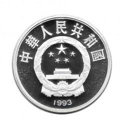 Silbermünze 10 Yuan China Fechten Jahr 1993 | Numismatik Shop - Alotcoins