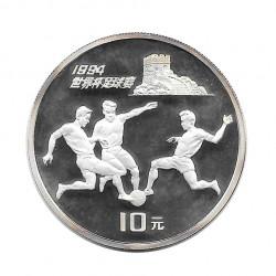 Gedenkmünze 10 Yuan China Weltmeisterschaft USA 1994 Jahr 1993 | Numismatik Store - Alotcoins