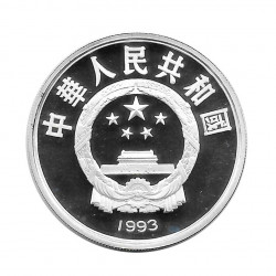 Silver Coin 10 Yuan China World Cup USA 1994 Year 1993 | Numismatics Store - Alotcoins