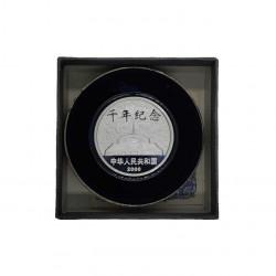 Gedenkmünze 10 Yuan China Neues Jahrtausend Jahr 2000 Polierte Platte PP | Numismatik Store - Alotcoins