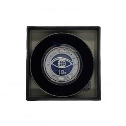Gedenkmünze 10 Yuan China Neues Jahrtausend Jahr 2000 Polierte Platte PP | Numismatik Shop - Alotcoins