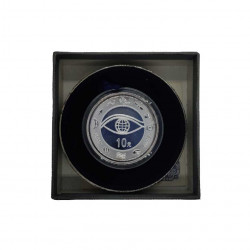 Silver Coin 10 Yuan China New Millennium Year 2000 Proof | Numismatics Shop - Alotcoins