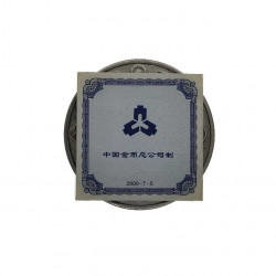 Silver Coin 10 Yuan China New Millennium Year 2000 Proof + Certificate of authenticity 2 | Numismatics Store - Alotcoins