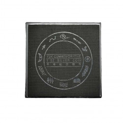 Silver Coin 10 Yuan China New Millennium Year 2000 Proof Case 2| Numismatics Store - Alotcoins