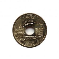 Moneda España 25 Pesetas Año 1999 San Fermin Pamplona Toros Navarra Sin Circular | Tienda Numismática - Alotcoins
