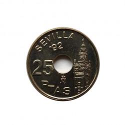 Coin 25 Pesetas Spain...