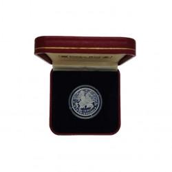 Moneda 14 ECUs / 10 Libras Gibraltar Caballero Año 1993 Proof + Certificado de autenticidad | Monedas de colección - Alotcoins