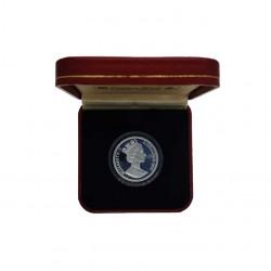Moneda 14 ECUs / 10 Libras Gibraltar Caballero Año 1993 Proof + Certificado de autenticidad | Tienda Numismática - Alotcoins