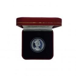 Moneda 14 ECUs Gibraltar Eurotúnel Año 1993 Proof | Tienda Numismática - Alotcoins