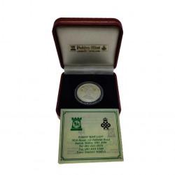 Gedenkmünze Gibraltar 14 ECU Kanaltunnel Jahr 1993 Polierte Platte PP + Echtheitszertifikat   Numismatik Shop - Alotcoins