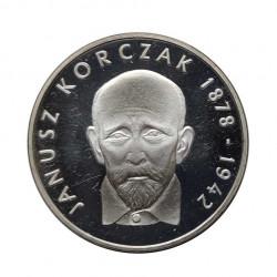 Moneda 100 Zlotys Polonia Janusz Korczak Año 1978 Proof | Monedas de colección - Alotcoins