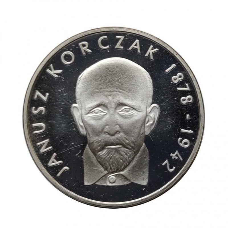 Silbermünze 100 Złote Polen Janusz Korczak Jahr 1978 | Numismatik Store - Alotcoins